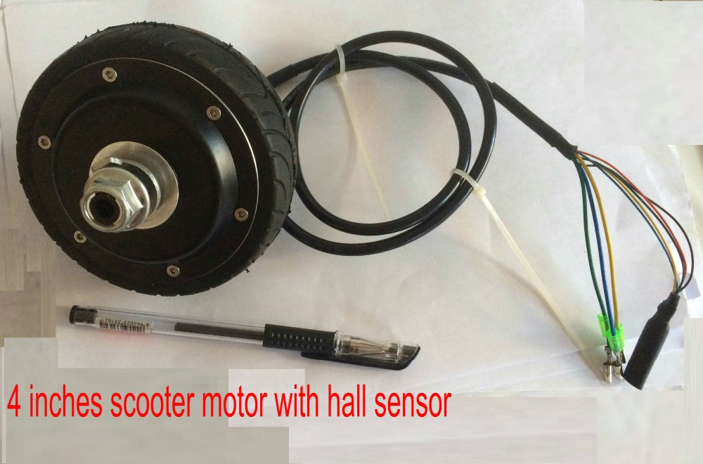 4inches motor for scooter with hall sensor