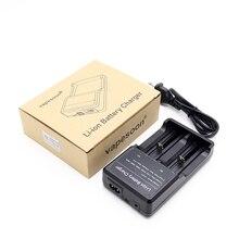 Original vapesoon Vape Li-ion Battery 2 Slots Charger 3.7V fit for 18650 26650 18350 32650 10440 14500 18490 Battery
