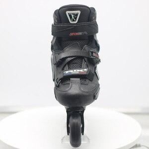 Image 4 - 100% оригинальные роликовые коньки для взрослых SEBA Trix2, роликовые коньки, кроссовки с рокерной рамой, скольжение, сладкие FSK патины, взрослые