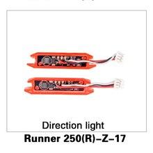 Dirección de La Luz para Walkera Runner Runner 250 Antelación GPS Drone RC Quadcopter Piezas Originales 250 (R)-Z-17