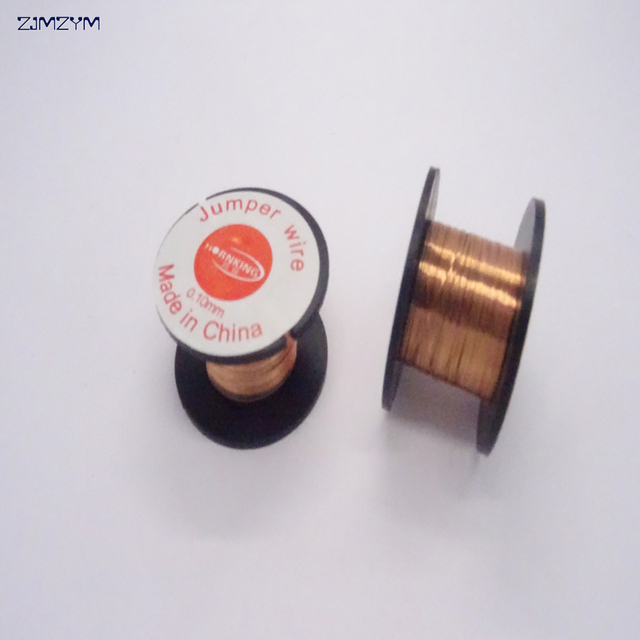 1PC copper Soldering Wire 0.1mm PCB Link Jumper Wire Maintenance ...