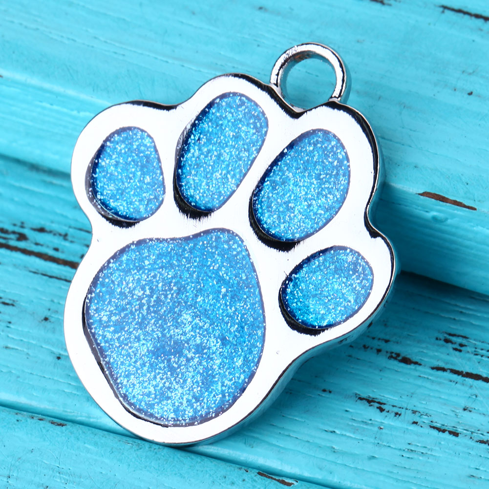 e7e0e86f64d1 Personalized Pet Dog Tag Glitter Custom Engraved Feet Card Dogs Cat ID Tags  Collar Pendants Pet Dog Products-in ID Tags from Home & Garden on  Aliexpress.com ...