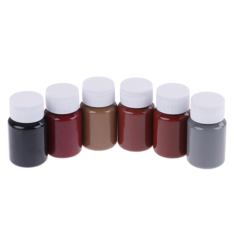 20ML Colors Leather Paint Set DIY Leather Edge Paint Edge Oil Dye Highlights Professional Watercolor Paint Liquid Art Supplies