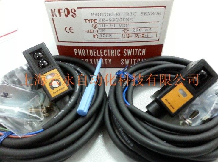 new original KE-SP200NS Taiwan  kai fang KFPS photoelectric sensor 100%new adc16471ciwm adc16471 sop24 ns brand new original orders are welcome