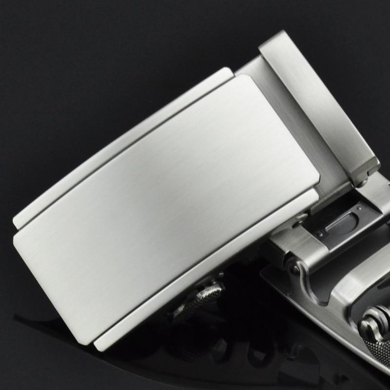 3.5cm Width Mens Belt Buckle Head Men's Belt Cow Leather Ratchet Belt Alloy Metal Automatic Buckle CE25-1066