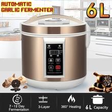 220 В EU/US 6L автоматический черный чеснок ферментер Maker зимолиз машина Электрический бытовой Отопление здорового натурального органического