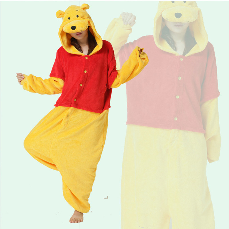 Adults Flannel Kigurumi Anime Cosplay Costume Women Men's Animal Onesies Pajamas Halloween Party Cosplay Camouflage Jumpsuit