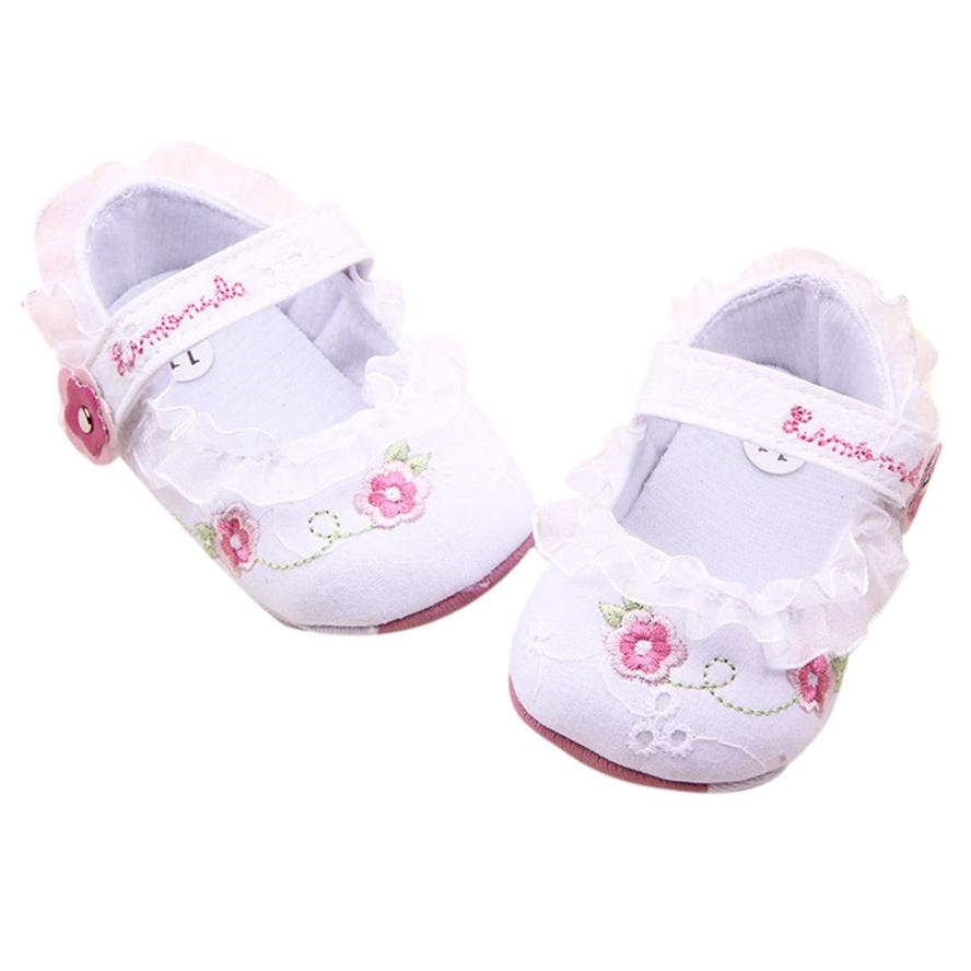 0-18M shoes for baby boy toddler girl shoes White color Soft Sole Crib Walker Shoes chaussure garcon Dropshipping Christmas Xmas