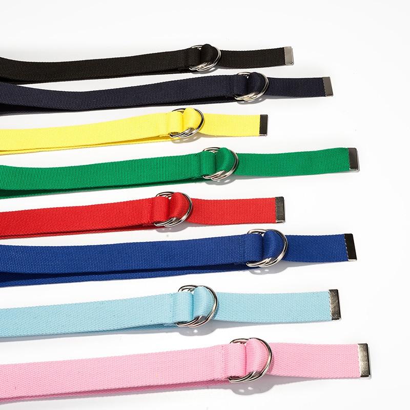 MaiKun Cinturones de lona para mujer Cinturón de hombre con hebilla - Accesorios para la ropa - foto 4