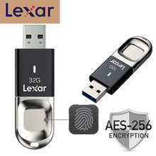 Get more info on the 100% Original Lexar USB 3.0 flash drive Fingerprint recognition pendrive 32GB F35 150MB/S cle usb stick Memory stick pen drive