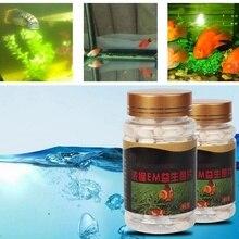 80 г 150 таблеток аквариумные нитрифицирующие бактерии капсулы аквариумные пробиотики пищеварительные капсулы для пресной воды морская вода, аквариум