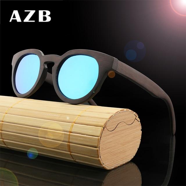 AZB 2017 NOUVEAU MS paquets envoyés 2016 bambou, bois rétro de mode lumière  polarisée vert 14d4e7a7108e