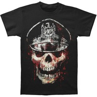 Skull Hat T Shirt Novelty Cool Tops Men S Short Sleeve Tshirt Casual T Shirt Male