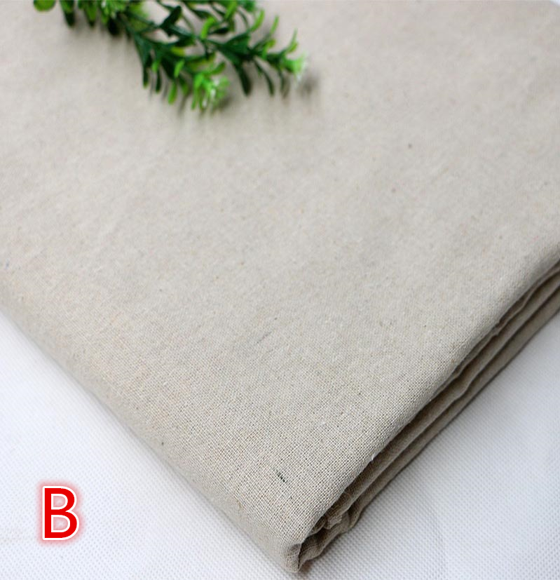 50 150cm Linen Cotton Fabric Meter Patchwork Costura Tissus Sofa Quilting Sewing Textiles Tilda Telas Felt Tulle Shabby Chic in Fabric from Home Garden
