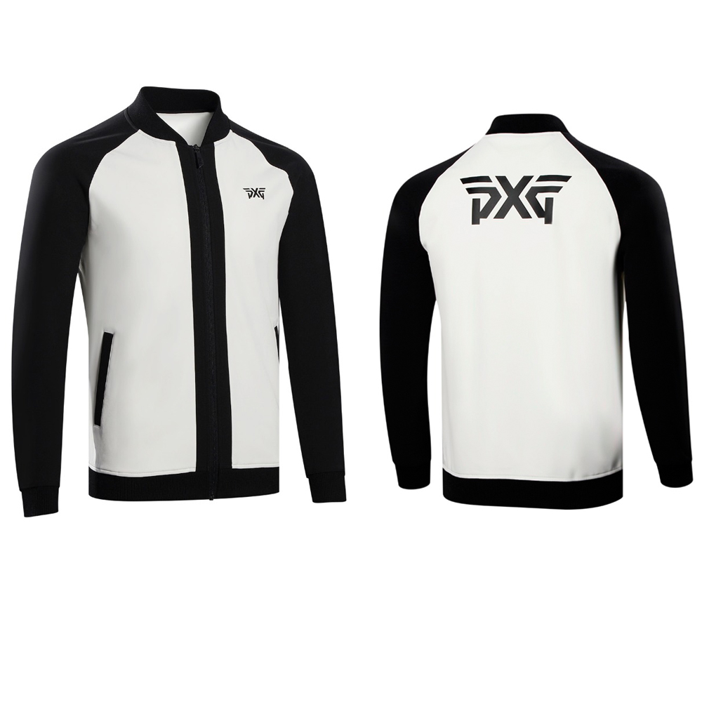 NEW Golf Jacket Sports PXG Clothing Clothes Outwear Long Sleeve Men's Outdoor Golf Training Coat S-XXL 4 Colors new cooyute golf windbreaker v mens golf jackets long sleeve male golf clothing black colors xxl size golf
