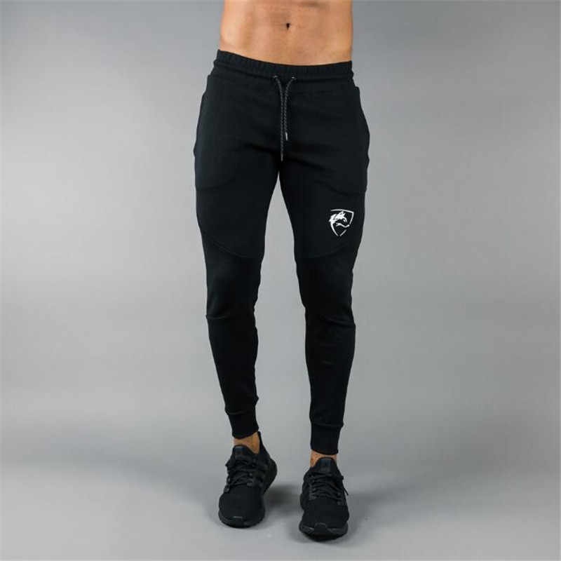 ALPHALETE Men Joggers Brand Male Trousers Casual Pants Sweatpants Jogger Black Casual Elastic cotton Fitness Workout pants