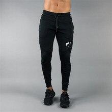ALPHALETE Men Joggers Brand Male Trousers Casual Pants Sweatpants Jogger Black Elastic cotton GYMS Fitness Workout pants