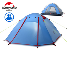 NatureHike 200*130*110CM  Double Layers 2 Person Camping Tent