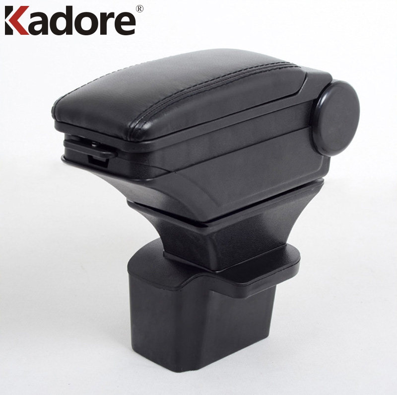 Kadore Fit For Chevrolet Cruze 2009-2014 Black Leather Auto Armrest Central Console Box Pad Mat Liner Arm Rest Cover Car Styling 2014 hotsale silicon car key cover for chevrolet cruze 2009 2014 sedan hatchback accessories car key cover case