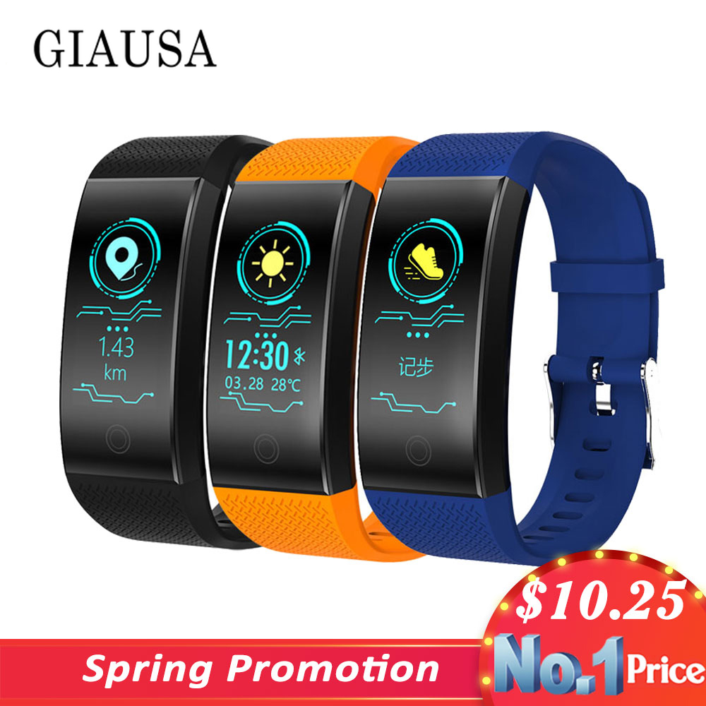 New Fitness Smart Watch Heart Rate Monitor Blood Pressure Fitness Tracker Men Women Smart band Sport Watch for ios android Swim image