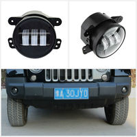 6000K 2PCS 4inch LED Fog Passing Light, 30W Round LED Driving Fog Light Lamps for 2007 2017 Jeep Wrangler JK CJ TJ
