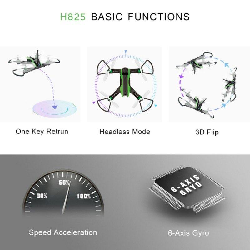 5.8 GHz basse puissance alarme à distance traversant la vitesse forte VR Drone tablier traversant la Machine Q1