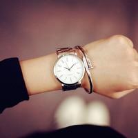 Newly Design Stainless Steel Watch Men Simple Fashion Women Casual Slim Waterproof Couple Quartz Watch Outdoor