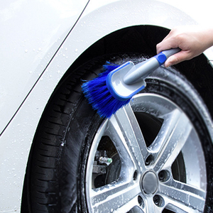 Image 2 - 1x Auto Car Wheel Cleaning Brush Tool Tire Washing Tyre Maintenance Soft Cleaner