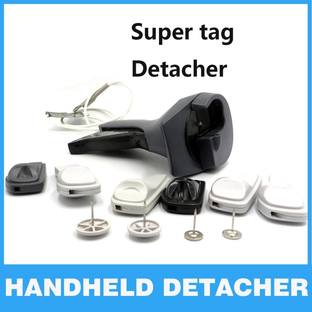 EAS Detacher Handheld New Sensor Tag Remover Hook EAS System Universal Magnetic Detacher Clothing EAS Secruity System Llaveros