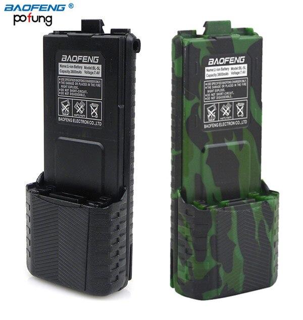 Baofeng UV-5R BL-5L 7.4 v 3800 mAh Haute Capacité Batterie Pour BaoFeng UV-5R UV-5RE DM-5R PLus Talkie Walkie UV5R Accessoires UV 5R