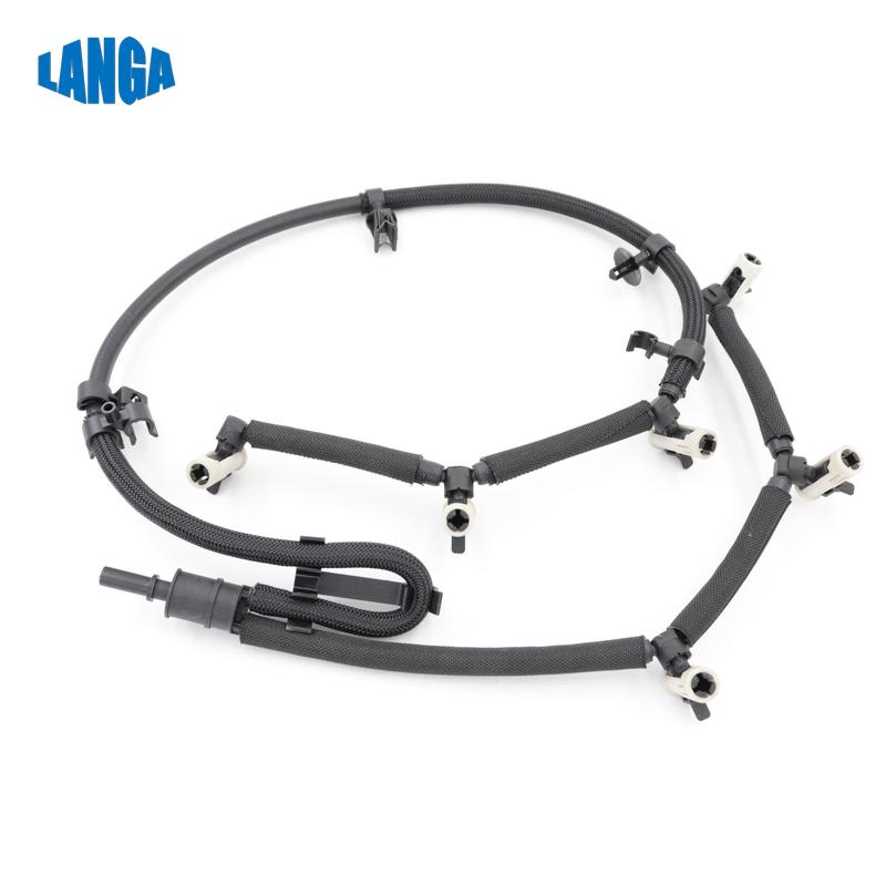 for DISCOVERY 4 5 RANGE ROVER VOGUE SPORT Fuel return Line Hose Pipe Injector Hose Leak