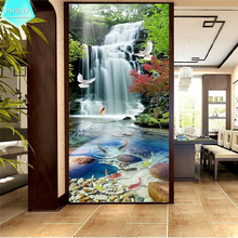 PSHINY 5D DIY Diamond embroidery sale Waterfall Landscape complete Square rhinestones pictures Painting new arrivals