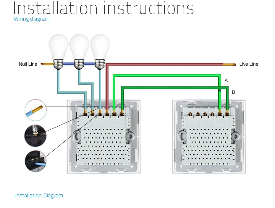 home automation enthusiasts page 14 www hardwarezone com sg  i have no experience with 2 way switches, but i saw this wiring diagram in the aliexpress product page