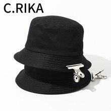 Las mujeres de los hombres de verano sombrero de cubo sol gorra triste de  la playa BTS Panamá dos Reversible de moda sombrero de. 8fc2786ba8d