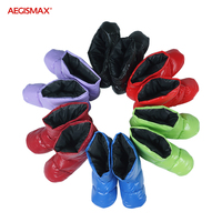 Aegismax Sleeping Bag Accessories Ultralight White Duck Down Slippers Outdoor Camping Hiking soft Sock Unisex Feet Cover Warm