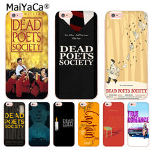 MaiYaCa Movie Dead Poets Society Luxury Fashion Phone Case for Apple iPhone 8 7 6 6S Plus X 5 5S SE XR XS XS MAX Mobile Cover(China)