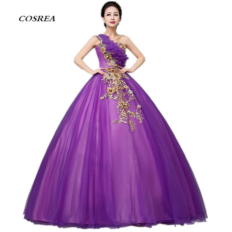 2017 Movie Beauty And The Beast Princess Belle Cosplay Costume Halloween village  Evening Dress For Adult Women and Girls