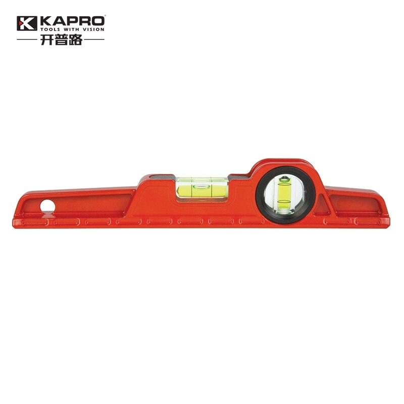 KAPRO High Precision Toolbox Level Aluminum alloy Die-casting level Mini spirit level Length 25cm