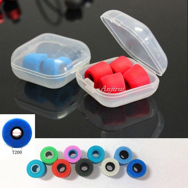 4 pcs/2 pair ANJIRUI T200 (L M S) caliber Ear Pads/cap Memory Foam Sponge ear pads headphone with set Headsets accessories