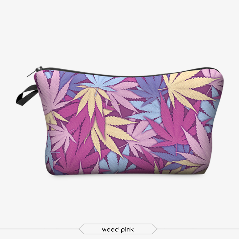 Jom Tokoy 3D Printing Makeup Bags With Multicolor Pattern Cute Cosmetics Pouchs For Travel Ladies Pouch Women Cosmetic Bag 18