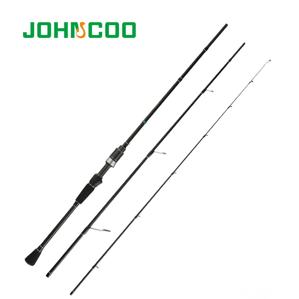 JOHNCOO New Glory Spinning Fishing Rod Fast Action 2.1m 0.6-6g Baitcasting Rod for Trout Rod with Solid Top Tip Carbon RodJOHNCOO New Glory Spinning Fishing Rod Fast Action 2.1m 0.6-6g Baitcasting Rod for Trout Rod with Solid Top Tip Carbon Rod