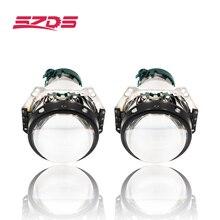 SZDS 2 pcs Oto Araba Far 3.0 inç Bi xenon Hella 3R G5 5 Projektör lens Araba styling Güçlendirme kafa ışık Değiştirmek D2s