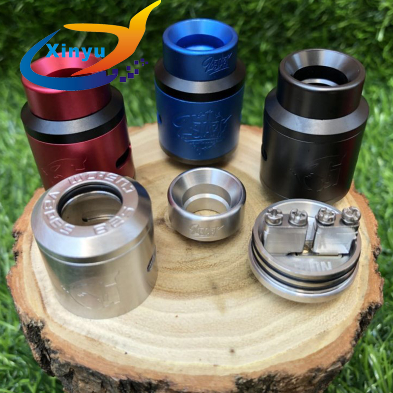 Factory Price 1:1 Lost Art Goon V1.5 RDA 24mm BF Squonk 510 Pin Rebuildable Drip Atomizers Adjustable Vs 528 GOON 25 RDA