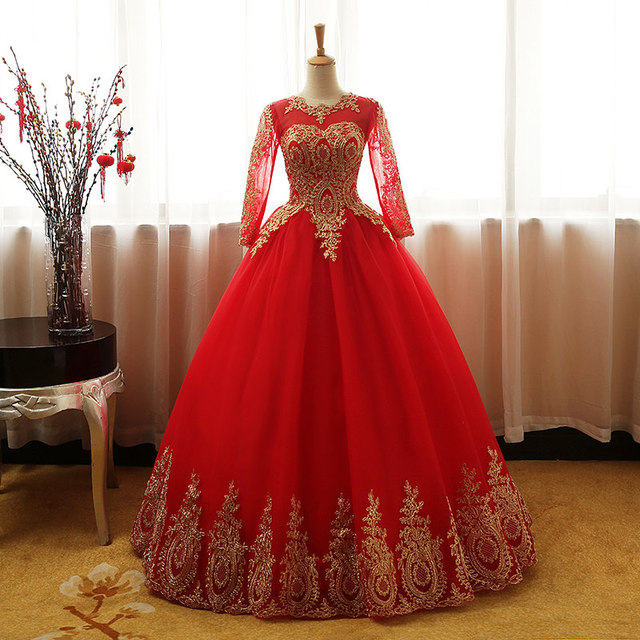 Fashion Vintage Sweet 2018 Free Shipping Lace Red Blue Black Wedding