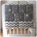 Подвесная Сумка-бампер для детской кровати  многофункциональная муслиновая детская кровать  карманная подвесная сумка для хранения  посте...
