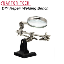 DIY Kit Repair Welding Bench Magnifying Tool Support Circuit Board Repair Working Table Clamp Tool DIY Electronic Suite