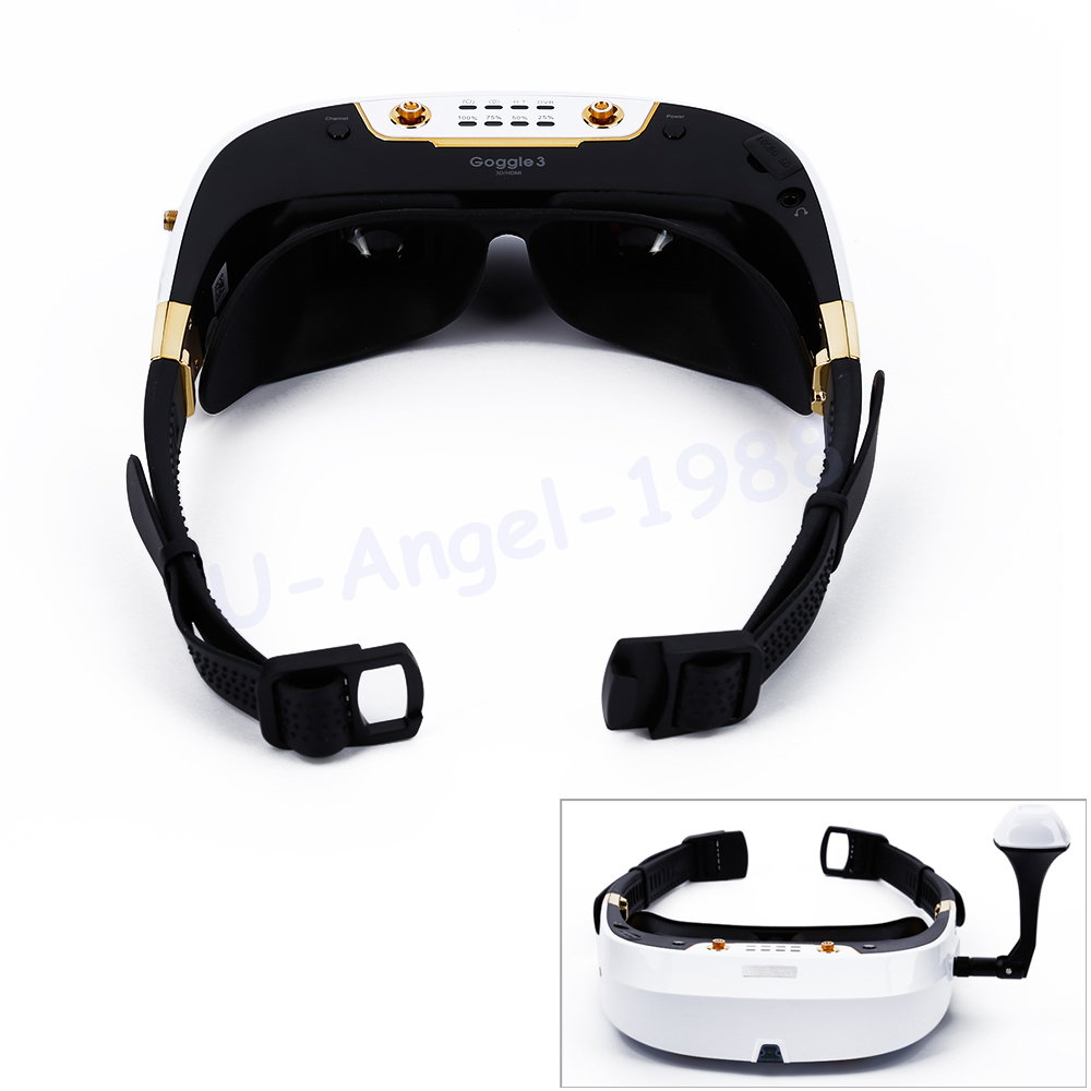 Original Walkera FPV Goggle 3 5.8G 3D Video Glasses Goggles HDMI 800x600 SVGA