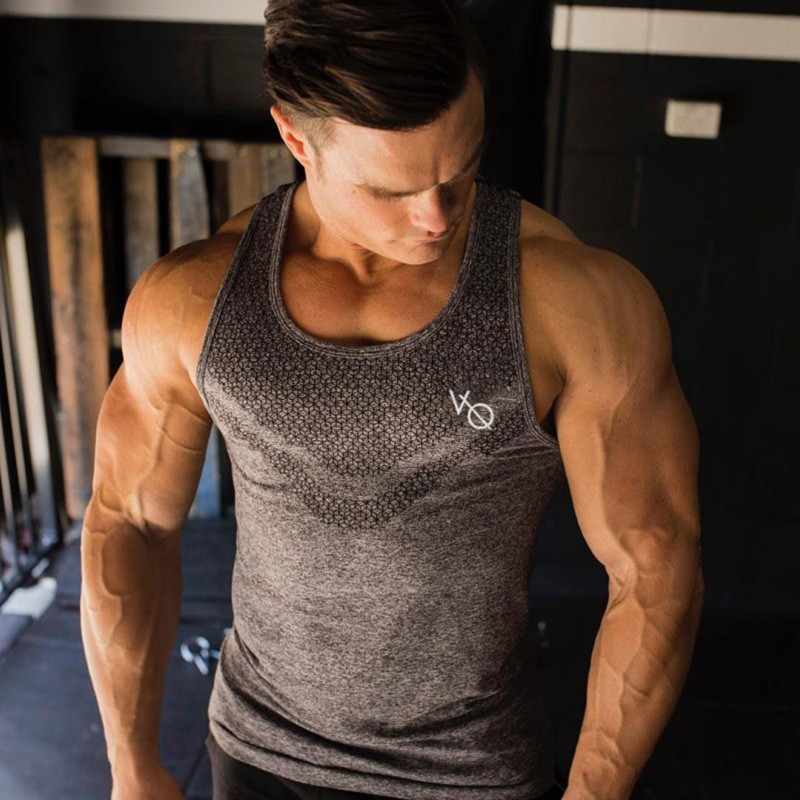 Men   Tank     Top   Army Camo Camouflage Mens Gyms Stringers   Tank     Tops   Singlet Brand Clothing Fitness Sleeveless Shirt Workout