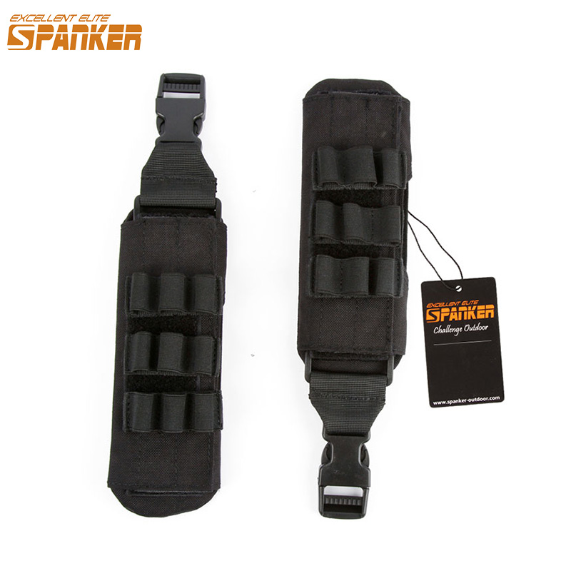 EXCELLENT ELITE SPANKER Outdoor Hunting Nylon Vest Magazine Shoulder Pad Tactical Combat Military Camouflage Vests Equipment