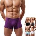 New Sexy Men Underwear Men's Boxer Shorts Bulge Pouch soft Underpants Fashion comfortable Underpants sale